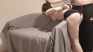 Sites de filmes pornôs gratuitos - Amateur Couple Puta Espancada Amarrada Do Papai Dá Facefuck Desleixado Áspero