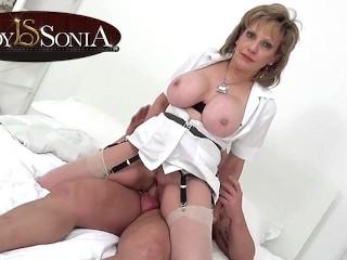 Teen Porn Handjob Lady Sonia Gives A Massage Then Gets Fucked Hard, Big Dick Big
