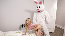 Easter Bunny Brings Creampie Surprise & Threesome Fuck S7:E9