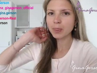 Gina Gerson talk for my fans