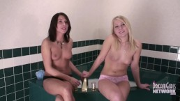 REAL Hot Sisters Topless In Panties Tell Dirty Secrets