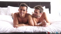 Gabriel Clark seduces Ashton Summers with his BIG COCK