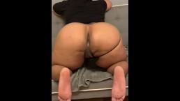 Fat Ass Farts Out Cum