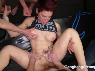 Porn Gf Pov Fucking, Cock Hungry Swinger Milf Gets all holes filled Blowjob Creampie Cumshot Hardcor
