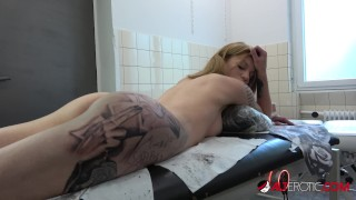 Teen Blonde Jay Jay Naked And Inked Up