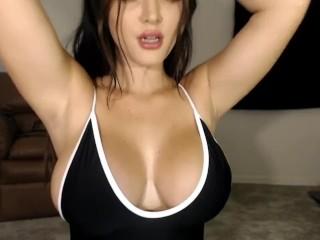 Crystal Knight Armpit Fetish TeaseUm Model JOI Jerk off instruction FemDom