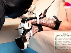 Feet Slave and Crazy Cumload