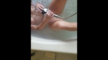 Morning bath. My clean tight pussy