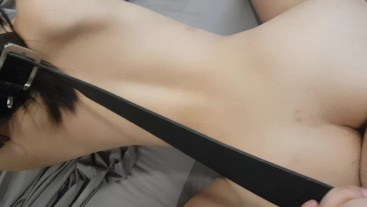 Anal play with my high school girlfriend and she blows me after.