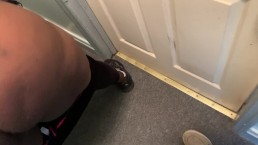 My BBW StepAunt Couldn't Wait To Get In The Room So Fucked Her In The Hall