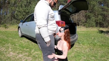 Easter Bunny Fuck In Forest - Facial