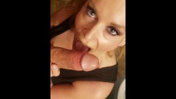 Son catches Cougar MILF Step Mom In Bathroom suck fuck Squirting Cream Pie