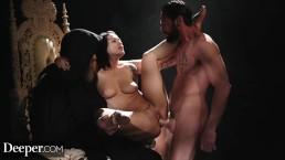 Deeper. Katrina Jade's Darkest Kink Fantasies Comes True