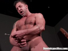 Dominic Pacifico Solo Kink Fetishy Sex in Excerpt from BLACK BOX