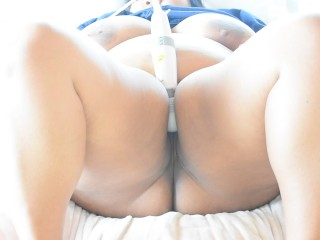 Beautiful Asian BBW Teases Her Pussy To Orgasm (Squirt)