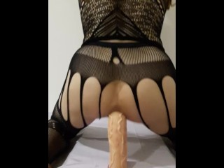 Extreme long anal dildo