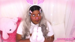 oppaibby - Busty Bunny Teases You With Huge Tits
