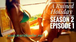 Bikini Babe ruins handjob - Marie Kaefer - Holiday Handjob S2 E1