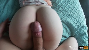 Fiance interrupts me while putting on makeup with his big dick & cumshot