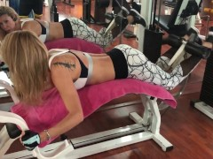 Trans Alexandra in the gym, for my fans (NO PORN)