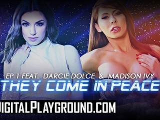 DigitalPlayground – Big Tit Lesben Madison Ivy & Darcie Dolce lecken den Arsch