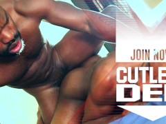 Cutler X big dick bubble butt suck & fuck with Taye Scott CUTLERSDEN.COM