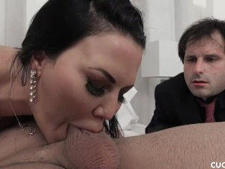Big Tits Babe Jasmine Jae Fucks A Trucker And Cucks Her Pathetic Husband