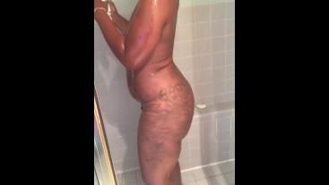 Boujee Betti twerking in the shower