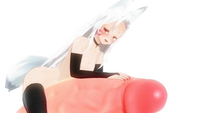 Kitsune hentai Maaya uchida hentai sewayaki kitsune no senko-san fox girl enjoy giant cock