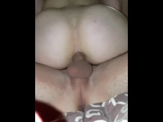 petite brunette rough and painful ass fuck