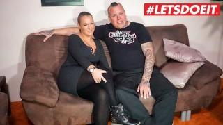 LETSDOEIT - Beautiful Eyes Busty Babe Suck & Fuck Sextape