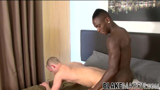 British amateur Nathan Dale fucks interracial before cumshot