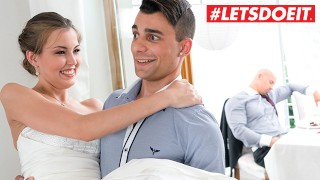 LETSDOEIT – Teen Step MOM Cindy Shine Fucks Step Son In Her Bride Dress