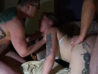 Threesome and foursome MMF MMMF