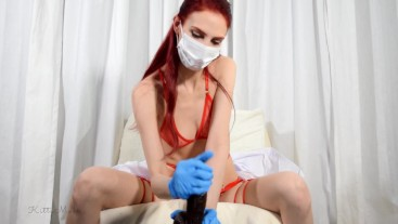 Nurse Kitty Milks You - JOI MEDICAL CUM COUNTDOWN CUM COLLECTION