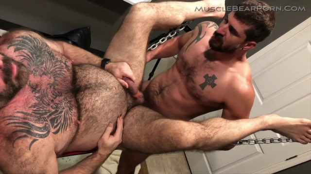 Gay bear porn Knocking up daddy