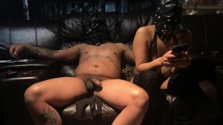 Fisting Mask Slave pussy making her scream cum over and over sub Slave