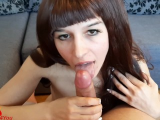 Give Me Your Hard Cock & Cum in My Mouth. Cum Play - LittleDevil4You