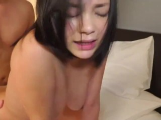 Cuckolding JAV busty spouse kinky intercourse whereas husband watches