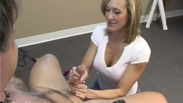 Brandi Love - Giving a CFNM handjob with dirty talk