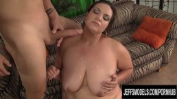Plumper Latina MILF Angelina Spreads Her Legs for Tongue and Cock