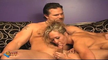 Gorgeous Milf Brandi Love Blows Husband