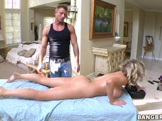 Best Freehomemade Adult Amateur Porn BANGBROS - Busty Blonde Babe Katie Kox Visits The Pornstar Spa