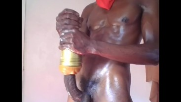 This thick big black horsehung dick will make you wet the bed!