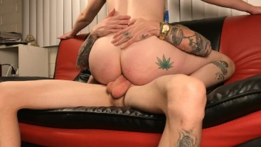 Tight anal creampie