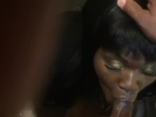 My Own cousin baths my Hard Dick with SLOB
