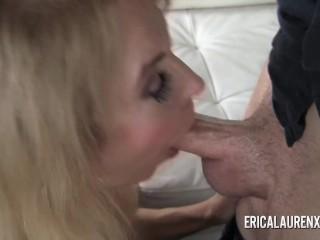 Pornstar MILF Erica Lauren has a thing for younger men