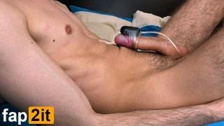 Amateur Guy Moaning Loud Dirty Talk Shaking Orgasm - Cum Handsfree 4K