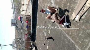 Sex On Rooftop In Broad Daylight