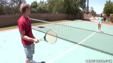 BANGBROS - Sex For Sport On The Tennis Court With MILF Katie Angel